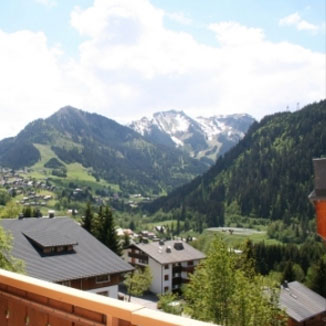 Balcon Des Alpes Chalet, Panoramic sight on the station